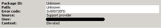 Error on running MSDT