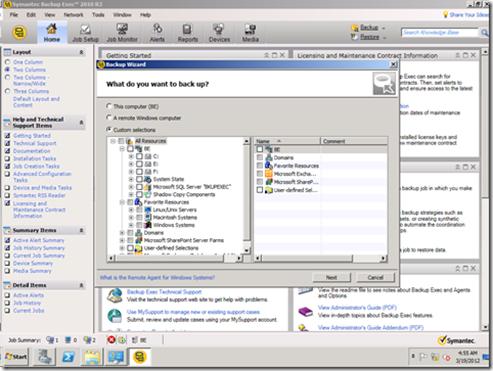 Backup Exec 2012 R3