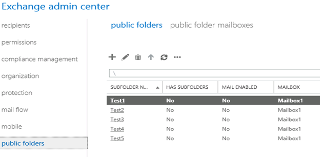 Public Folders Migration from Exchange 2007/2010 to Exchange