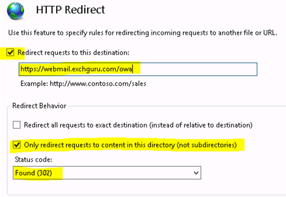 Exchange 2013: HTTP redirection issues with ECP virtual directory