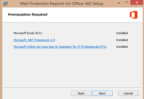 office 365 eop download reports in excel
