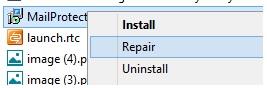 Repair Msi