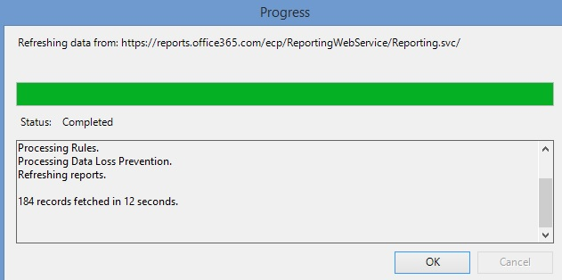 reporting result