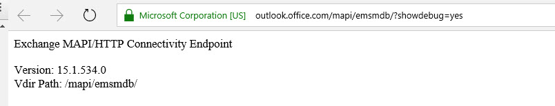 Office365 version