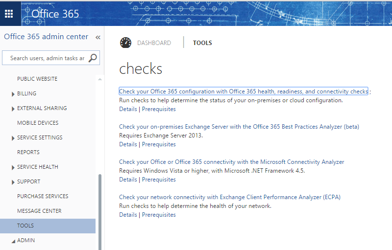 Download office 365 deployment readiness tool beta.