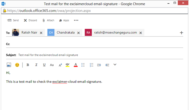 how to set email signature in office 365