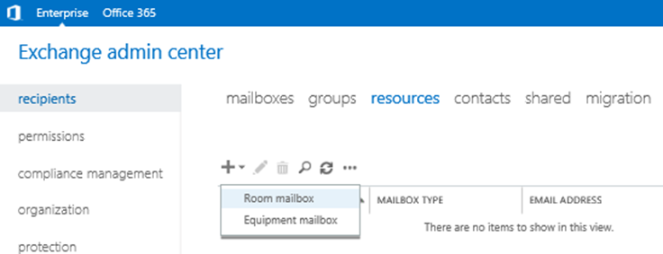 Working with Resource Mailboxes in Exchange Server 2016 ...