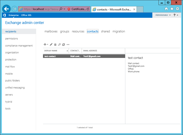 Working with Mail Contacts and Mail User in Exchange Server 2016 «  MSExchangeGuru.com