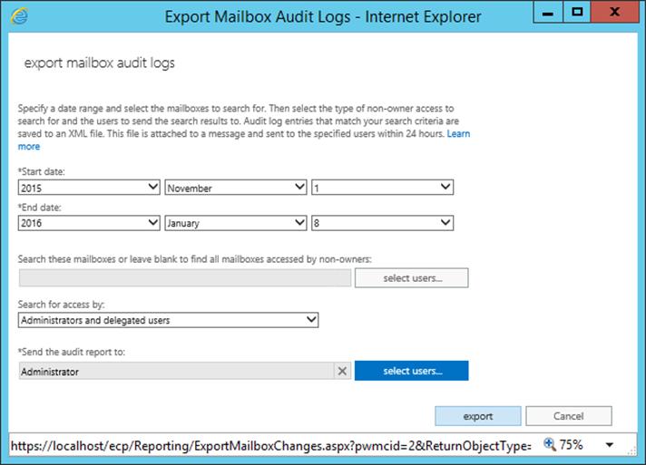 Mailbox audit logging in Exchange 2016 « MSExchangeGuru com