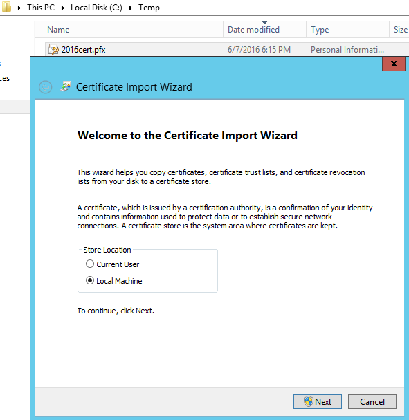 Hybrid: ADFS and Azure Federation Certificate Renewal