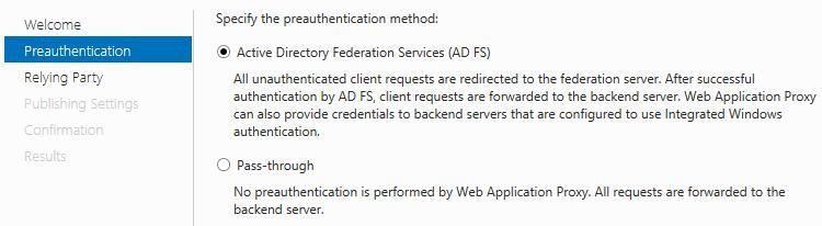 web application proxy adfs ports