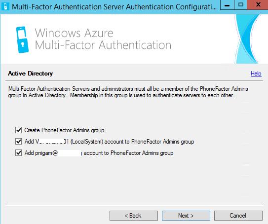Azure Multi-Factor Authentication Part 1 Deployment