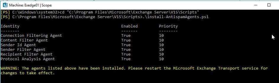 Exchange 2016 Anti-Spam configuration « MSExchangeGuru com