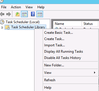 How to Use Task Scheduler to schedule PowerShell Scripts